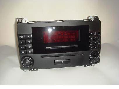 used w169 w245 a b class audio 20 head unit comand. Black Bedroom Furniture Sets. Home Design Ideas