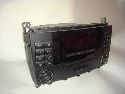 used w203 c class audio 20 head unit comand navigation. Black Bedroom Furniture Sets. Home Design Ideas
