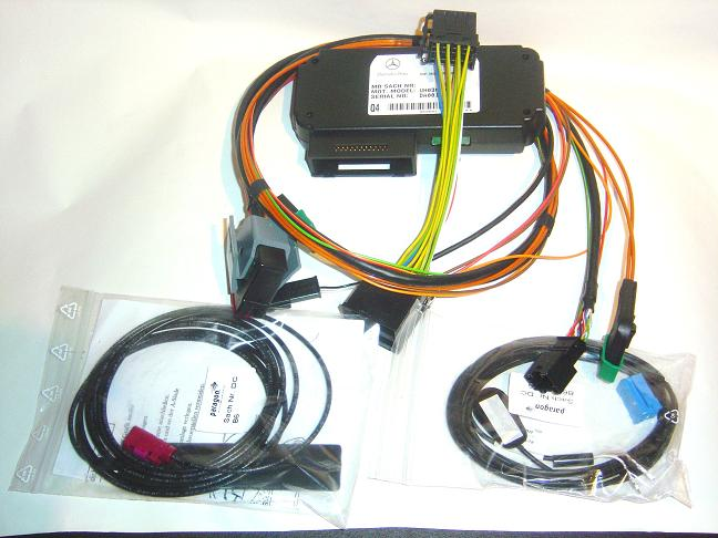 Phone retrofit kit for D2B based cars
