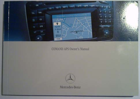Comand 2 0 manual for c w203 clk g class cars for Mercedes benz navigation system manual