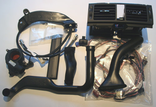 Retrofit Kit for NTG4 in W204 C Class - Left Hand Drive