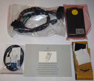 Mercedes iPod kit (NTG2) for A, B, W203-C, CLK, ML, GL, R, Vito, Viano with COMAND or Audio-20-CD