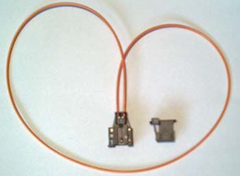 Fibre optic looping tool for MOST bus