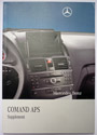 Comand NTG4 Manual for W204 C and GLK Class