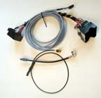 W211/W219/R171 E/CLS/SLK Audio-20-CD to COMAND NTG2.5 conversion set for cars with phone