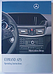 Comand NTG4 Manual for W212 E Class, W207 E Class Coupe and E Class Convertible