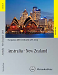 Comand APS Map DVD Australia and New Zealand for NTG2.5 COMAND Systems